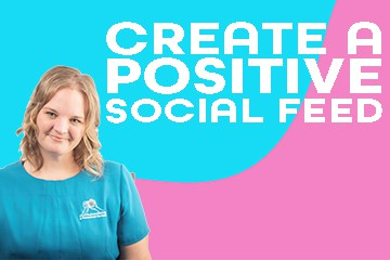 WS; positive social feed