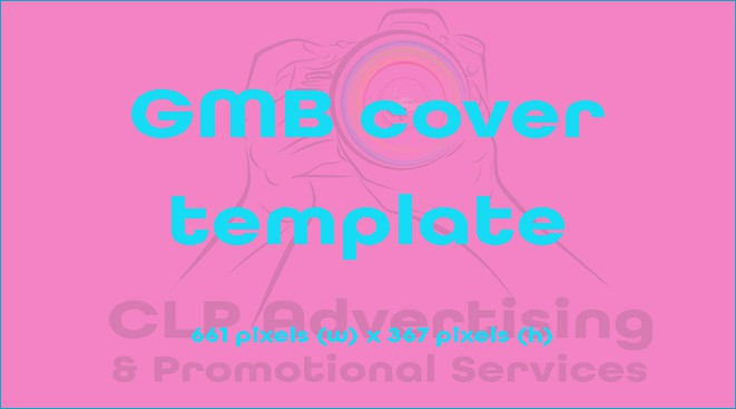 Google My Business cover image template